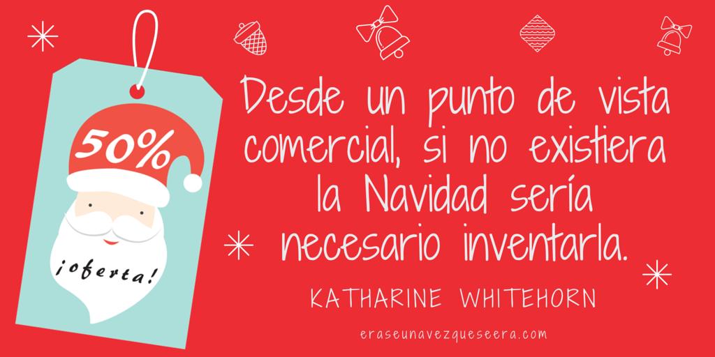 cita de navidad de Katharine Whitehorn