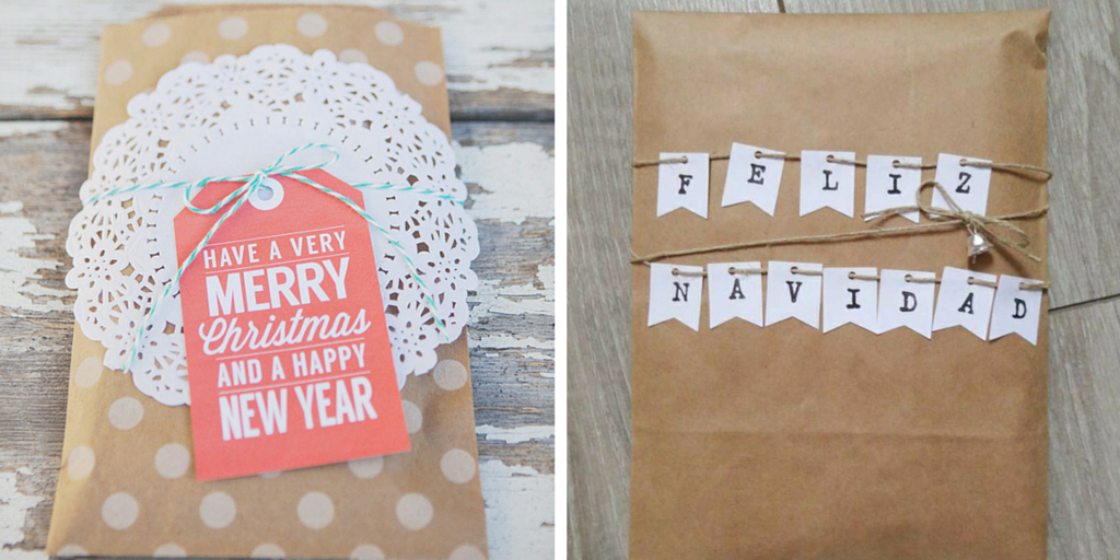 Libros de Navidad empaquetados en sobres