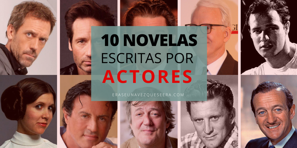 10 novelas escritas por actores