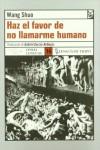 Haz el favor de no llamarme humano, novela sobre las olimpiadas
