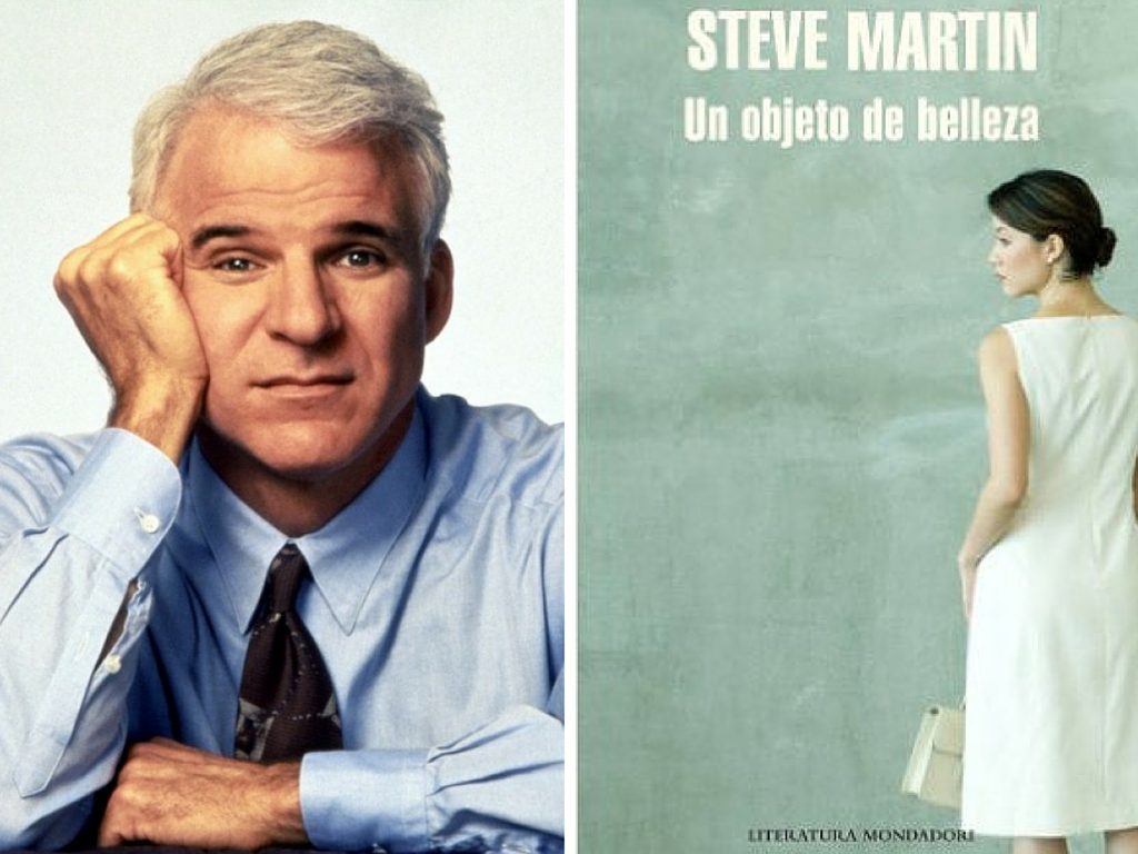 Un objeto de belleza, novela del actor Steve Martin