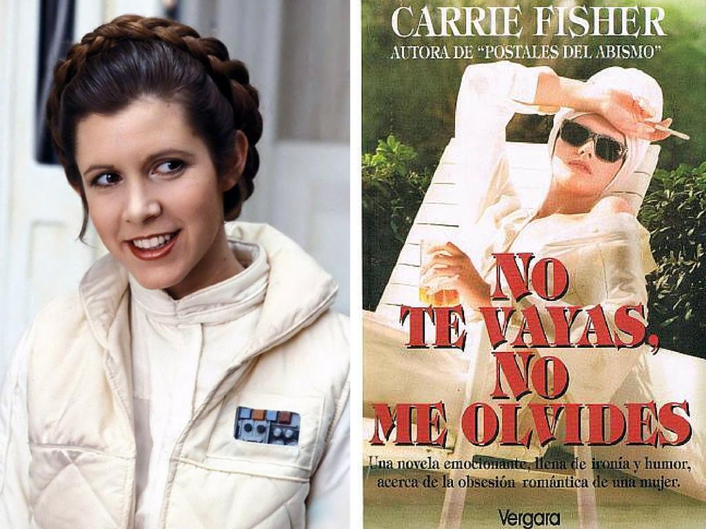 La novela escrita por la actriz Carrie Fisher
