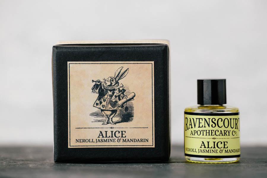 Perfume inspirado en Alicia en el País de las Maravillas