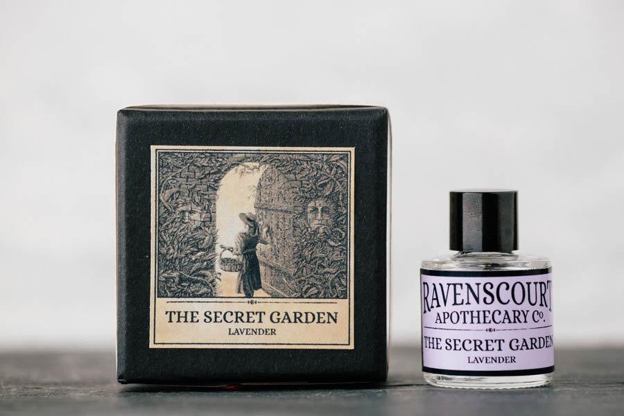 Perfume inspirado en El jardín secreto