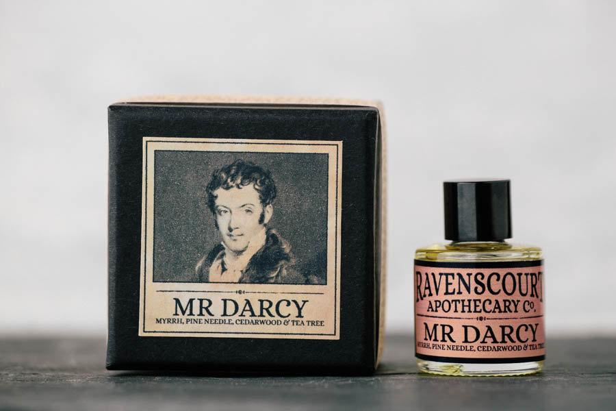 Perfume inspirado en Mr. Darcy, de Orgullo y prejuicio