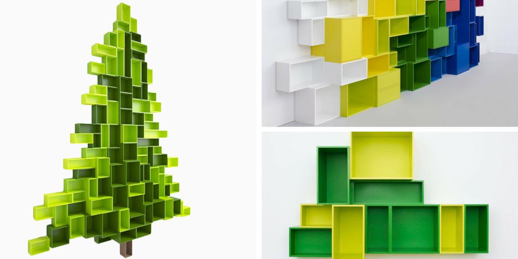 Librerías modulares con forma de árbol