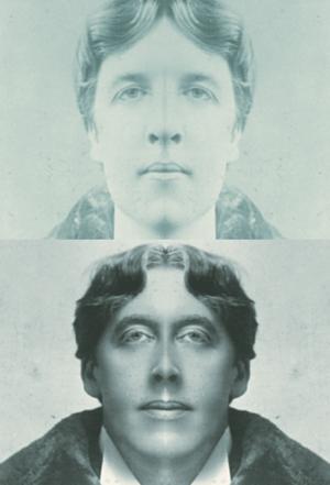 Escritores con caras simetricas
