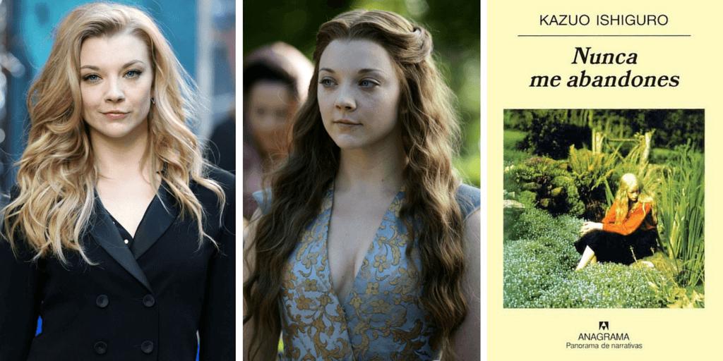 """La actric que interpreta a Margaery Tyrell de """"Juego de Tronos"""" recomienda Nunca me abandones"""