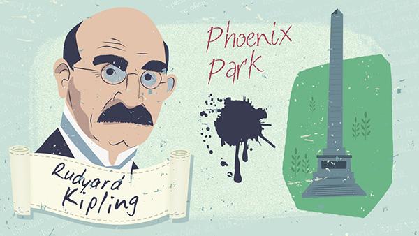 Rudyard Kipling y el Phoenix Park de Dublín