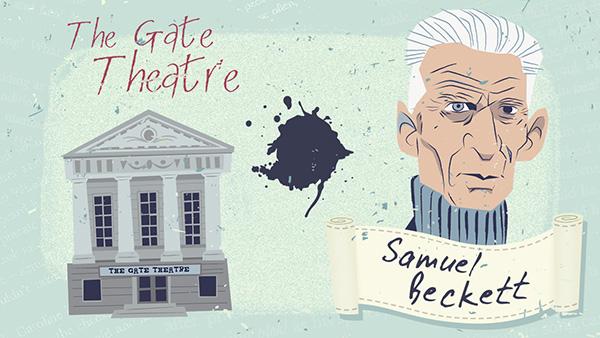 En el Gate Theatre se han representado muchas de las obras de Samuel Beckett