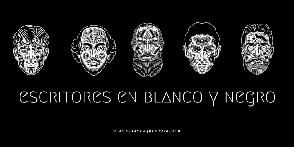 Escritores En Blanco Y Negro