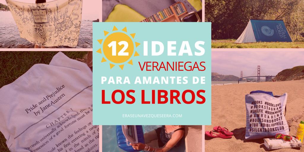 12 ideas para amantes de los libros