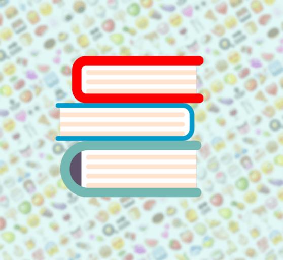 Libros en emoji