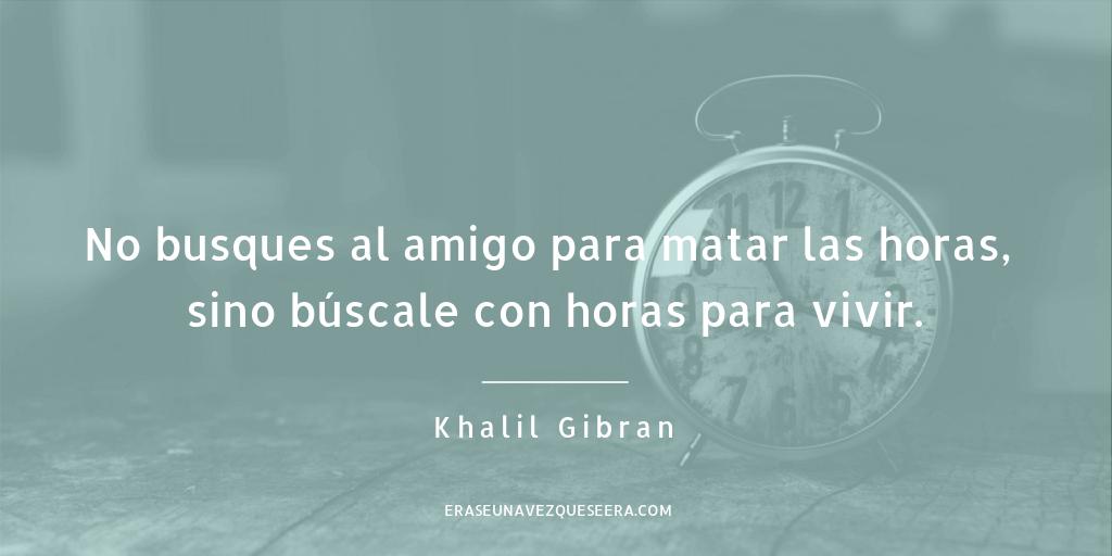 Cita del escritor Khalil Gibran sobre la amistad