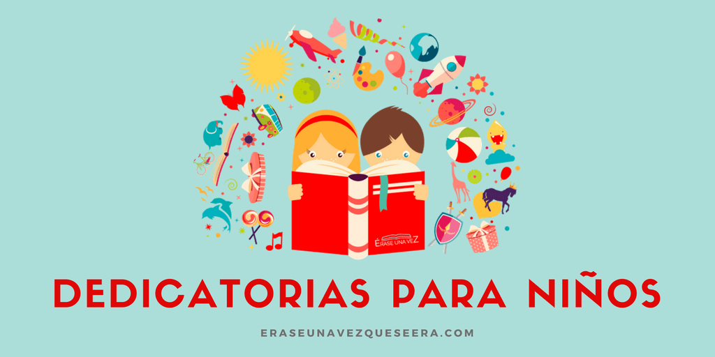 Dedicatorias de libros para niños