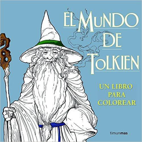 El mundo de Tolkien, para colorear
