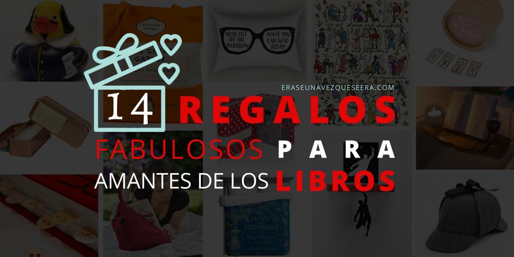 14 regalos fabulosos para amantes de los libros