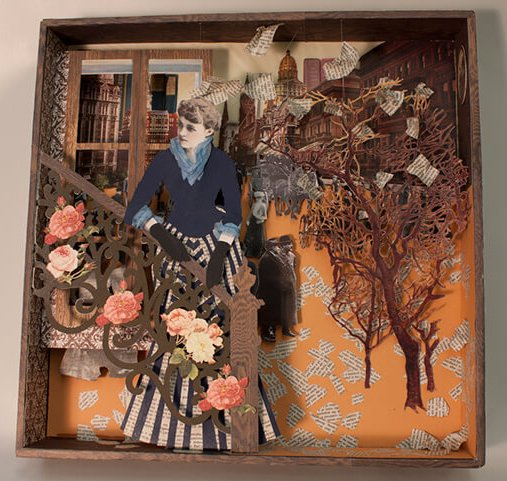 Collage de Edith Wharton