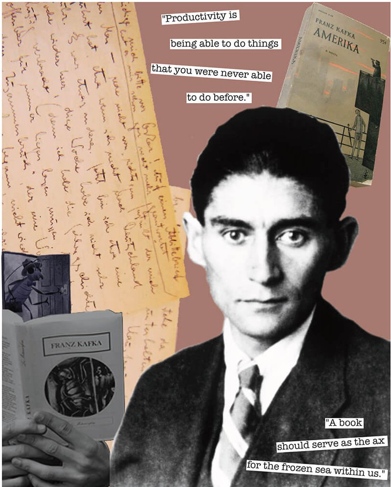 Collage de Franz Kafka