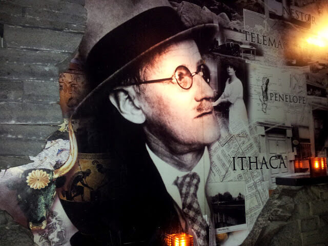 Collage de James Joyce