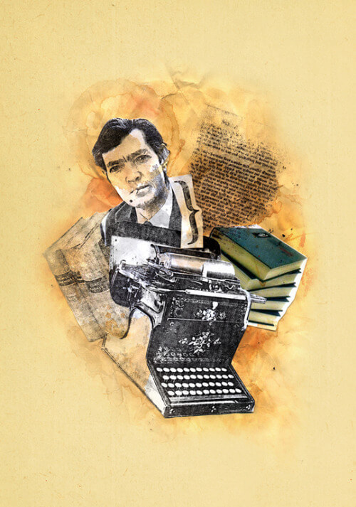 Collage de Julio Cortázar