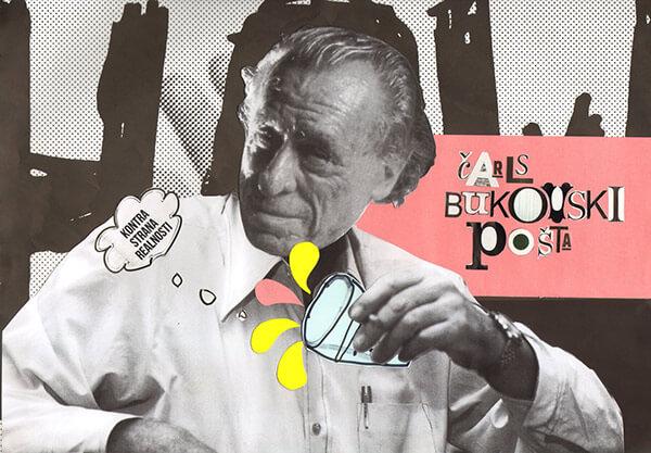 Collage de Charles Bukowski