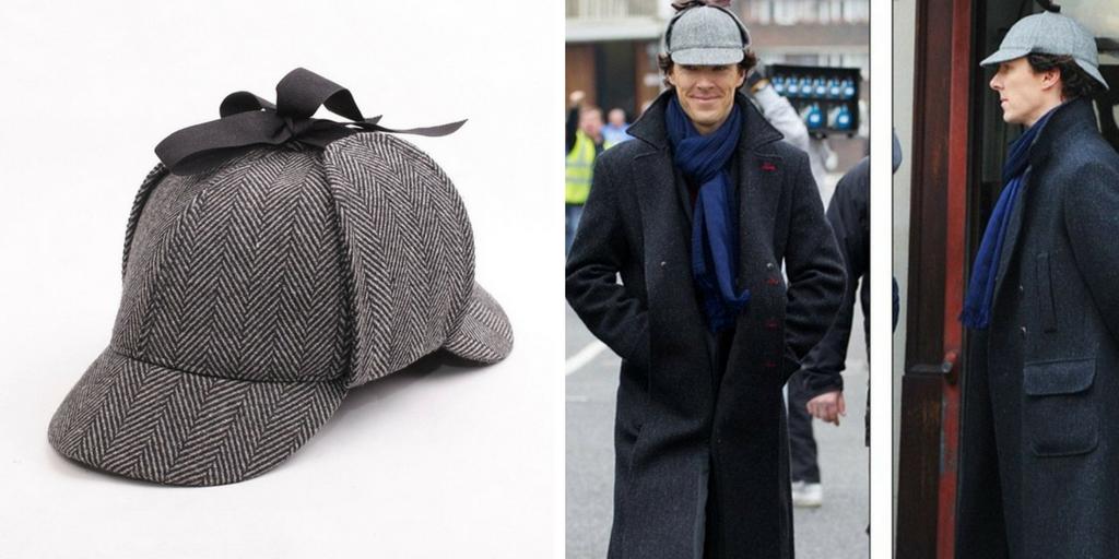 Gorra de Sherlock Holmes