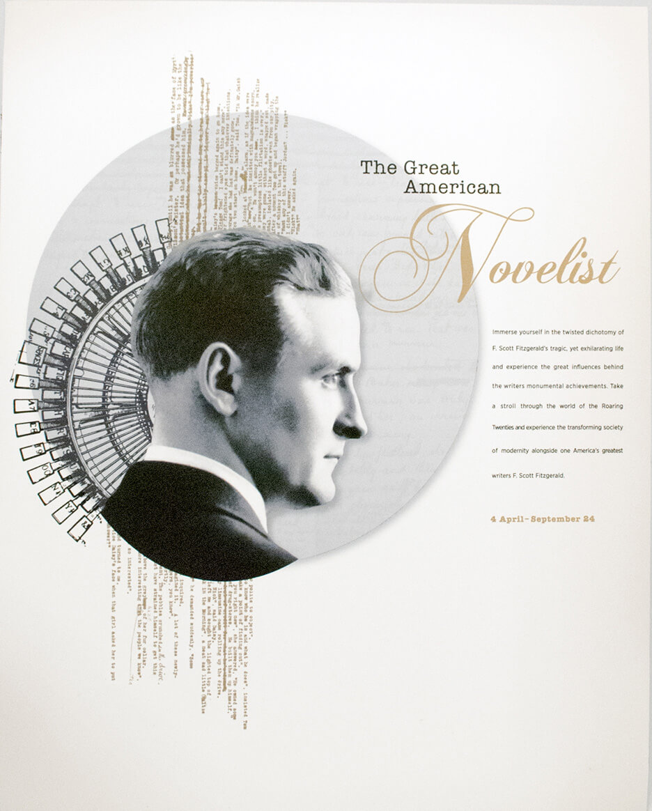 Collage de Francis Scott Fitzgerald