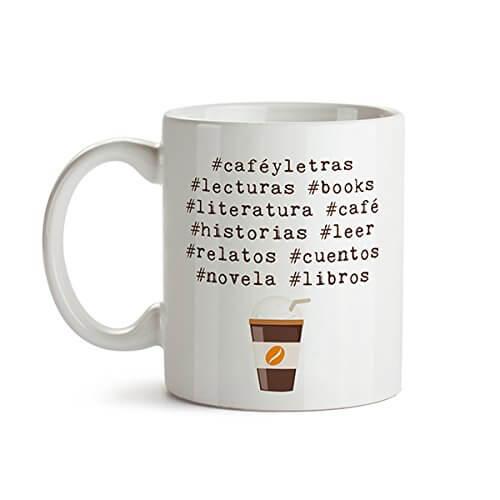 Taza para lectores: café y letras