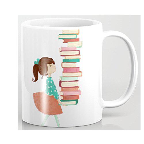 Taza para locos por los libros
