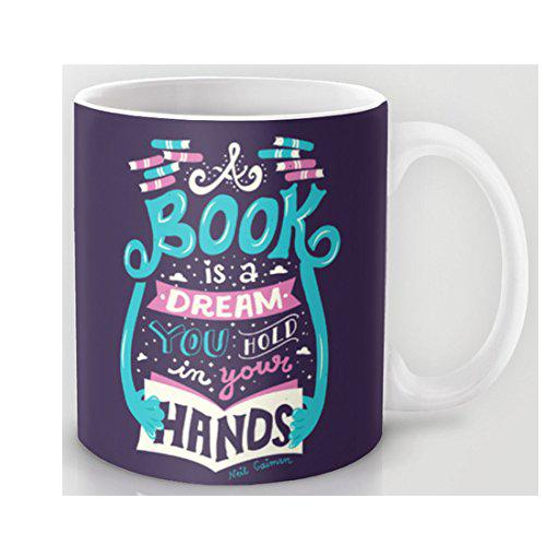 Taza para amantes de los libros