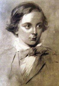 Charles Dickens cuando era un niño
